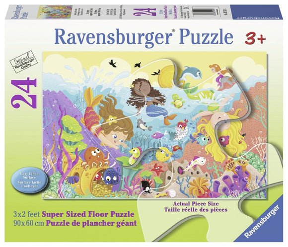Ravensburger Splashing Mermaids - 24 pc Floor Puzzles