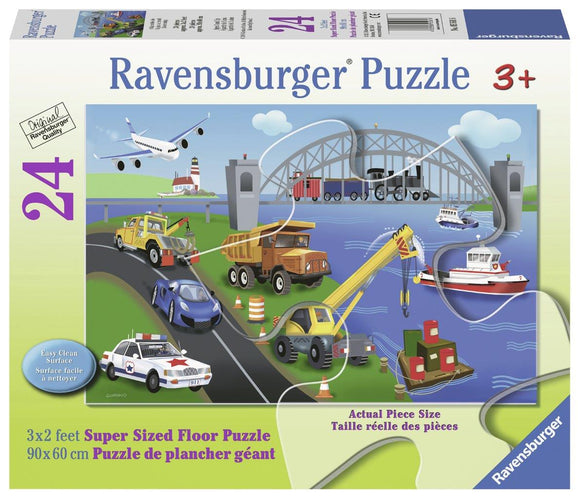 Ravensburger A Day on the Job - 24 pc Floor Puzzles