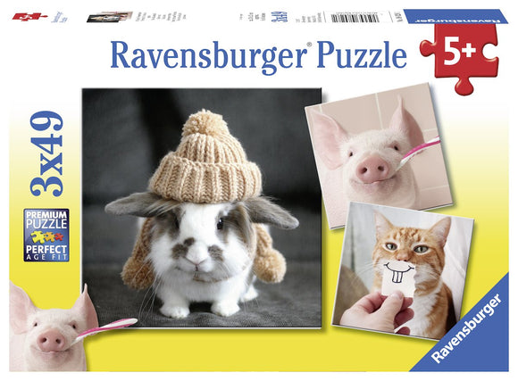 Ravensburger Puzzles & Games - Funny Animal Portraits