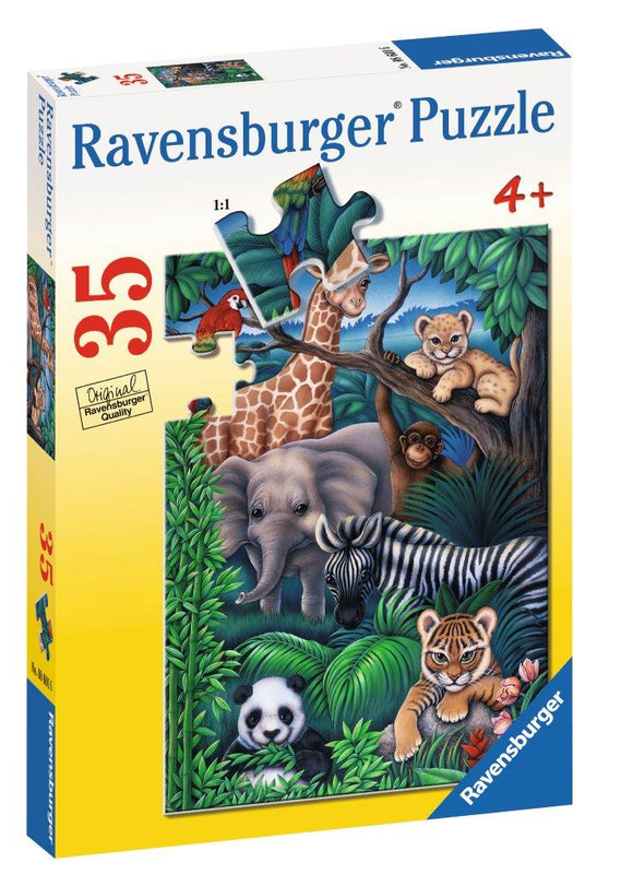Ravensburger Puzzles & Games - Animal Kingdom