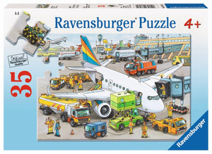 Ravensburger Busy Airport - 35 pc Puzzles