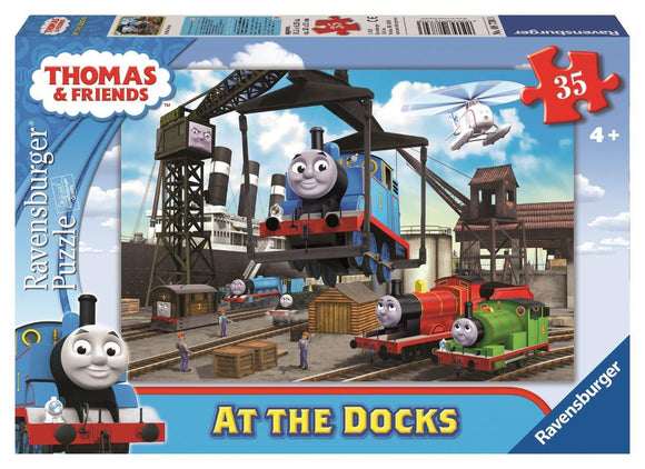 Ravensburger Puzzles & Games - Thomas At the Docks