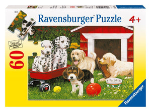 Ravensburger Puppy Party - 60 pc Puzzles