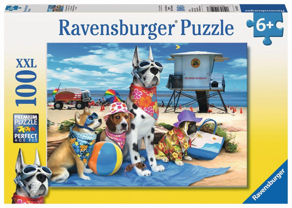 Ravensburger No Dogs on the Beach - 100 pc Puzzles
