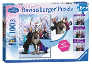 Ravensburger Puzzles & Games - Disney Frozen Spot The Frozen Difference