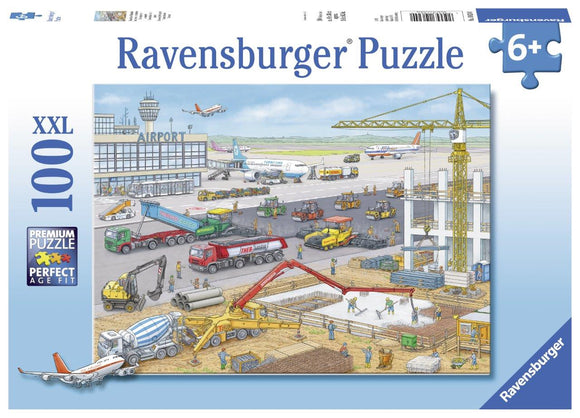 Ravensburger Construction at the Airport - 100 pc Puzzles