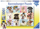 Ravensburger Doggy Disguise - 100 pc Puzzles