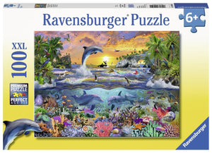 Ravensburger Tropical Paradise - 100 pc Puzzles