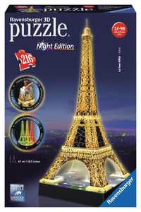 3D Eiffel Tower Night Edition - Jouets Choo Choo
