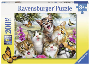 Ravensburger Friendly Felines - 200 pc Puzzles