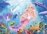 Mermaid & Dolphins