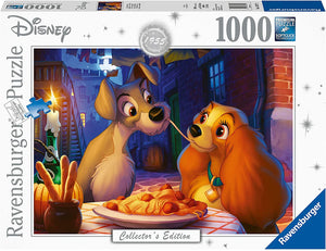 Ravensburger Disney Lady and the Tramp - 1000 pc Puzzle