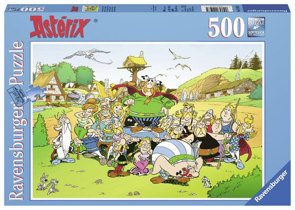 Ravensburger Astérix: The Village - 500 pc Puzzles