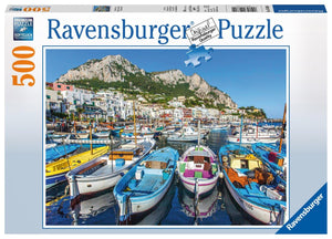 Ravensburger Colorful Marina - 500 pc Puzzles