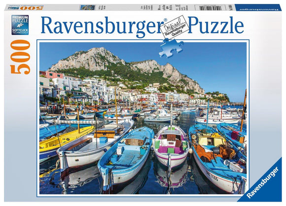 Ravensburger Puzzles & Games - Colorful Marina