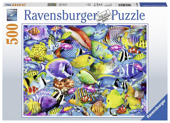 Ravensburger Tropical Traffic  - 500 pc Puzzles