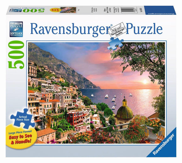 Ravensburger Positano - 500 pc Large Format