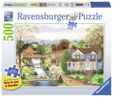 Ravensburger The Fishing Lesson - 500 pc Large Format