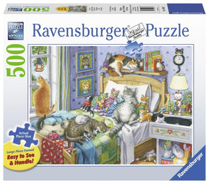 Ravensburger Cat Nap - 500 pc Large Format