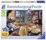 Ravensburger Cozy Retreat - 500 pc Large Format