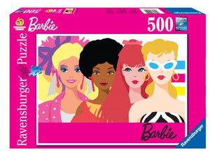 Ravensburger 60th Anniversary Barbie - 500 pc Puzzles