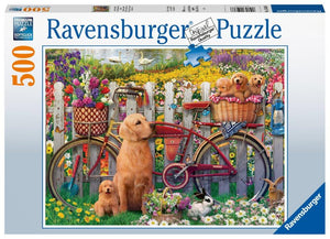 Ravensburger Cute Dogs - 500 pc Puzzles