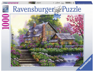 Ravensburger Romantic Cottage - 1000 pc Puzzles