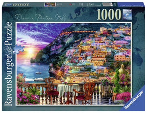 Ravensburger Dinner in Positano - 1000 pc Puzzles