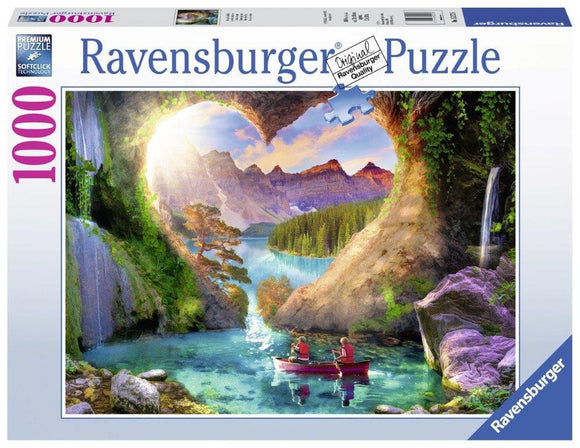 Ravensburger Heartview Cave - 1000 pc Puzzles