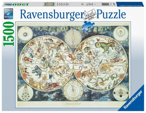 Ravensburger Map of the World - 1500 pc Puzzles