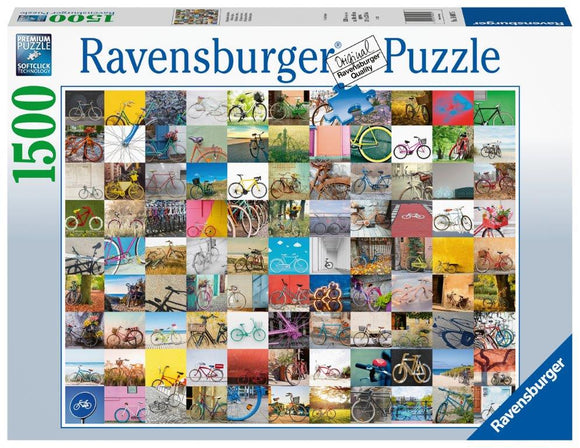Ravensburger 99 Bicycles - 1500 pc Puzzles