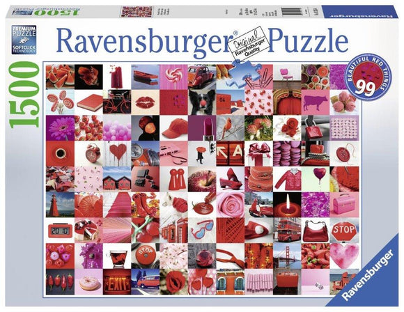 Ravensburger 99 Beautiful Red Things - 1500 pc Puzzles