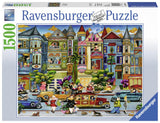 Ravensburger The Painted Ladies - 1500 pc Puzzles