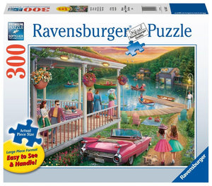 Ravensburger Summer at the Lake - 300 pc Puzzles