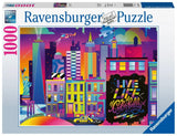 Ravensburger Live Life Colorfully, NYC - 1000 pc Puzzle