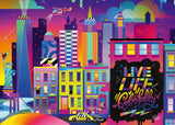Live Life Colorfully, NYC