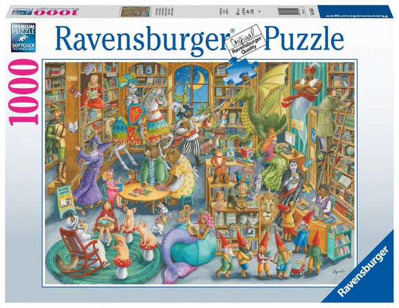 Ravensburger Midnight at the Library - 1000 pc Puzzle