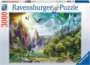 Ravensburger Reign of Dragons - 3000 pc Puzzles