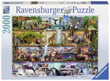 Ravensburger Wild Kingdom Shelves  - 2000 pc Puzzles