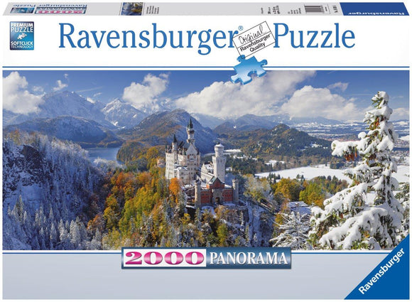Ravensburger Neuschwanstein Castle - 2000 pc Panorama Puzzles