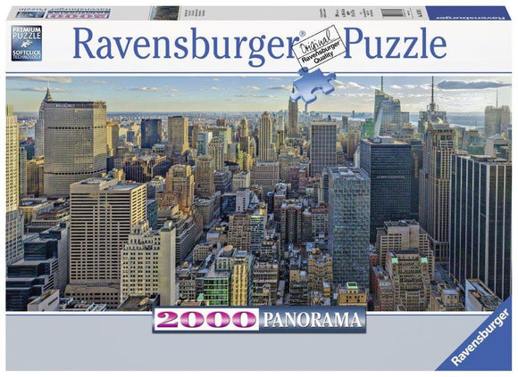 Ravensburger View Over New York - 2000 pc Panorama Puzzles