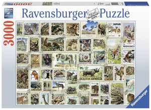 Ravensburger Animal Stamps  - 3000 pc Puzzles