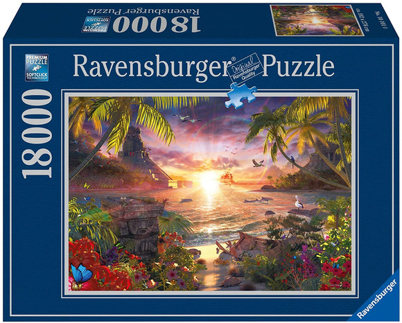 Ravensburger Paradise Sunset - 18000 pc Puzzles