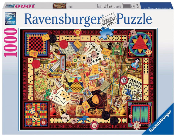Ravensburger Vintage Games  - 1000 pc Puzzles