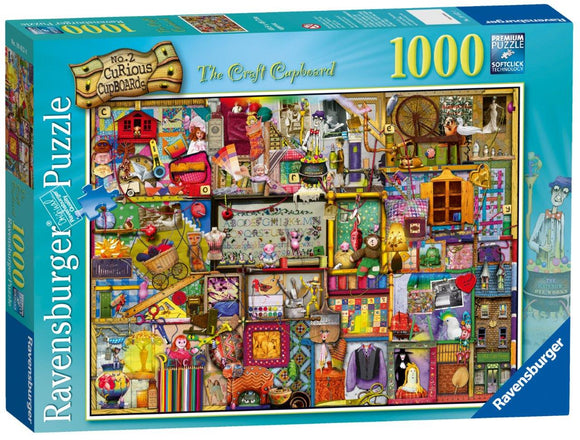 Ravensburger The Craft Cupboard Colin Thompson - 1000 pc Puzzles