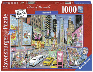 Ravensburger New York - 1000 pc Puzzles