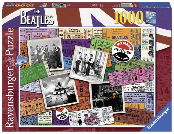 Ravensburger Beatles: Tickets - 1000 pc Puzzles