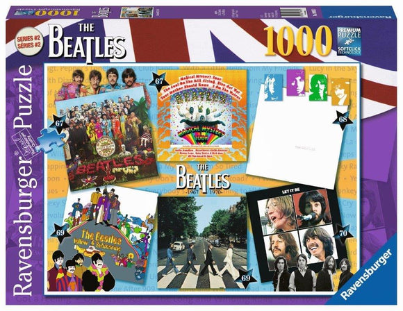 Ravensburger Beatles: Albums 1967-70 - 1000 pc Puzzles