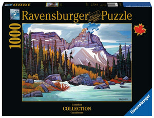 Ravensburger Cathedral Mountain - 1000 pc Puzzles