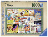 Ravensburger Disney Vintage Movie Posters - 1000 pc Puzzles